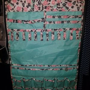 Other - Pink and teal hanging organizer